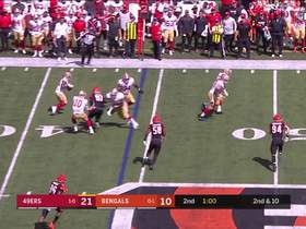 Watch: 49ers' slick trick play results in 16-yard gain