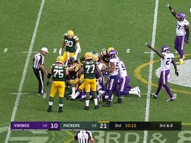 Watch: Vikings D recover their second fumble of the day