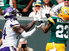 Watch: Can't-Miss Play: Diggs beats two defenders DEEP for 45-yard TD