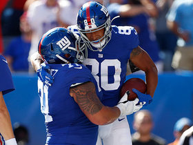 Watch: Can't-Miss Play: T.J. Jones toe-taps for TD