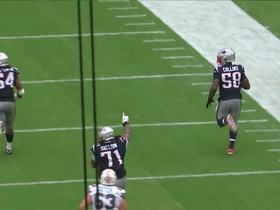 Watch: Jamie Collins takes it to the HOUSE for 69-yard pick-six