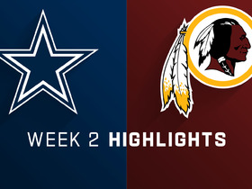 Watch: Cowboys vs. Redskins highlights | Week 2