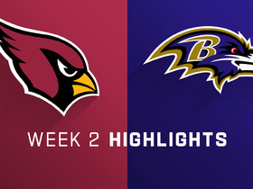 Watch: Cardinals vs. Ravens highlights | Week 2