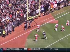 Watch: Tyrell Williams' nifty route sends Chiefs' DB to the turf on early TD grab