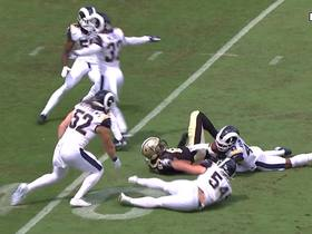 Watch: John Johnson comes up with early INT for Rams