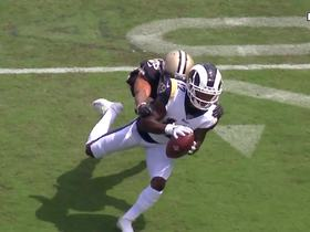 Watch: Can't-Miss Play: Jared Goff LAUNCHES to Brandin Cooks for insane 57-yard pass