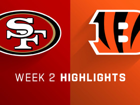 Watch: 49ers vs. Bengals highlights | Week 2