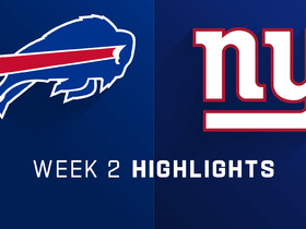 Watch: Bills vs. Giants highlights | Week 2