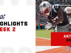 Watch: Every catch from Antonio Brown's Patriots debut | Week 2