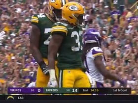 Watch: Aaron Jones' best plays vs. the Vikings | Week 2