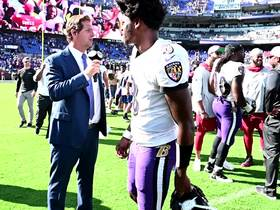Watch: Lamar Jackson, John Harbaugh celebrate after Week 2 win vs. Cardinals