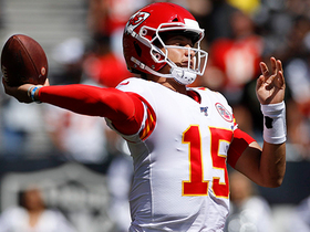 Watch: Mahomes uncorks another deep ball to Robinson for 43 yards
