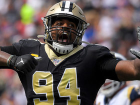 Watch: Cam Jordan's fumble-return TD called back
