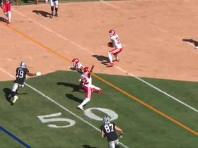 Watch: Charvarius Ward is in perfect spot to grab first career INT