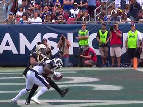 Watch: Brandin Cooks beats Marshon Lattimore on slant for Rams TD