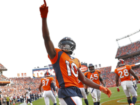 Watch: Emmanuel Sanders corrals sensational toe-tapping catch for CLUTCH TD