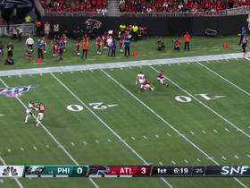 Watch: Eagles execute perfect punt as Mack Hollins downs Falcons at 1-yard line