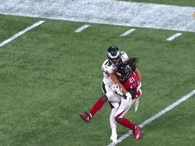 Watch: Desmond Trufant records first INT since Week 11 of 2017