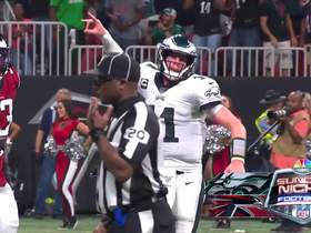 Watch: Wentz delivers to Ertz on two-point conversion