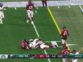 Watch: Falcons seal comeback victory with huge fourth-down stop