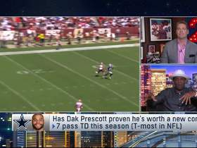 Watch: Deion on Dak's next contract: Price is getting 'higher and higher'