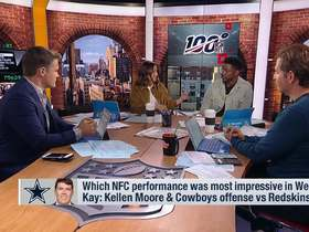 Watch: Which Week 2 NFC performance was most impressive?