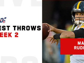 Watch: Mason Rudolph's best plays vs. Seahawks | Week 2