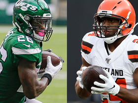 Watch: Projecting RB stats for Jets-Browns on 'MNF'   'NFL Fantasy Live'