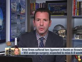 Watch: Rapoport outlines two different surgery options for Brees