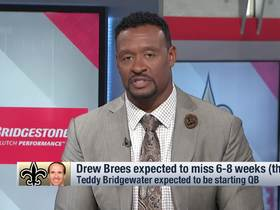 Watch: McGinest: Why I wouldn't give Hill the QB edge over Teddy B