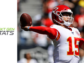 Watch: Next Gen Stats: How Mahomes picked apart Raiders' secondary in Week 2
