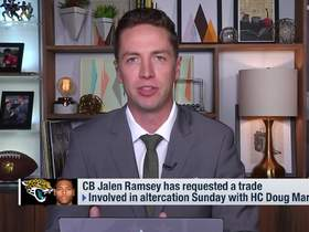 Watch: Pelissero: Jaguars 'not eager' to trade Jalen Ramsey