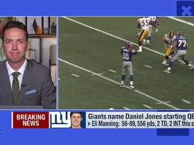 Watch: Casserly: Two things Daniel Jones can do better than Manning