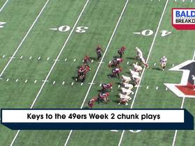 Watch: Inside look at the 49ers Week 2 chunk plays | Baldy's Breakdowns
