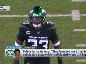 Watch: Jamal Adams reacts to being benched against Browns on 'MNF'