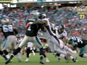 Watch: 'NFL 100 Greatest' No. 77: 2011 NFL Draft's top picks collide for SB50's signature play