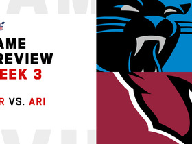 Watch: Panthers vs. Cardinals preview | Week 3