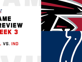 Watch: Falcons vs. Colts preview | Week 3