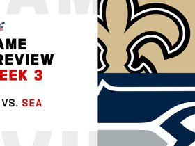 Watch: Saints vs. Seahawks preview | Week 3