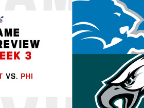 Watch: Lions vs. Eagles preview | Week 2
