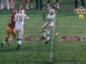 Watch: 'NFL 100 Greatest' No. 75: Garo Yepremian delivers football's ultimate folly in SBVII