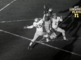 Watch: 'NFL 100 Greatest' No. 71: Y.A. Tittle's 'Alley-oop' to R.C. Owens
