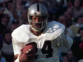 Watch: 'NFL 100 Greatest' No. 61: 'Old man Willie' Brown's iconic SBXI INT