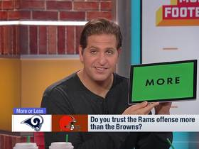 Watch: Rams vs. Browns: Which offense is more reliable?