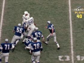Watch: 'NFL 100 Greatest' No. 40: John Mackey bowls through Lions defenders on dominant TD