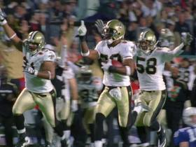 Watch: 'NFL 100 Greatest' No. 32: Tracy Porter's SBXLIV pick-six seals Saints' win