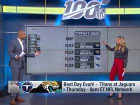 Watch: Top 5 players from Titans-Jaguars on 'TNF' | 'NFL Fantasy Live'