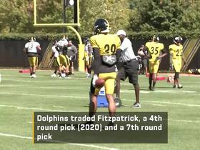 Watch: Fitzpatrick believes he can be an impact players for the Steelers' D