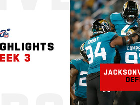 Watch: Every Jacksonville sack on 'TNF' | Week 3