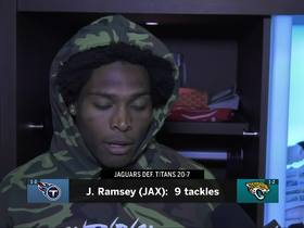 Watch: Jalen Ramsey declines to answer trade questions after win